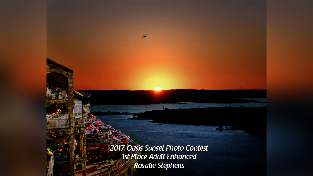 2017 Oasis Sunset Photo Contest 1st Place Adult Enhanced Rosalie Stephens