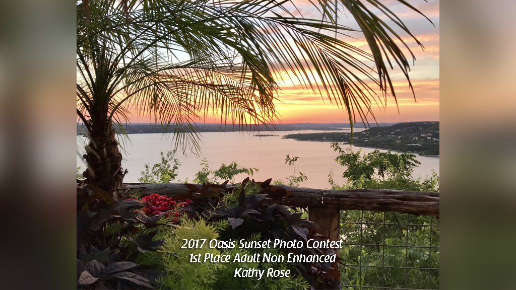 2017 Oasis Sunset Photo Contest 1st Place Adult Non Enhanced Kathy Rose