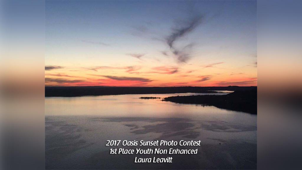 2017 Oasis Sunset Photo Contest 1st Place Youth Non Enhanced Laura Leavitt