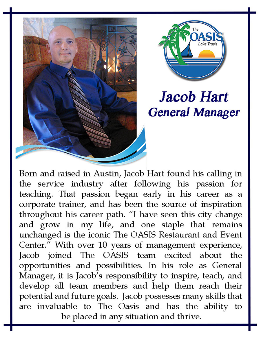 General Manager Jacob Hart