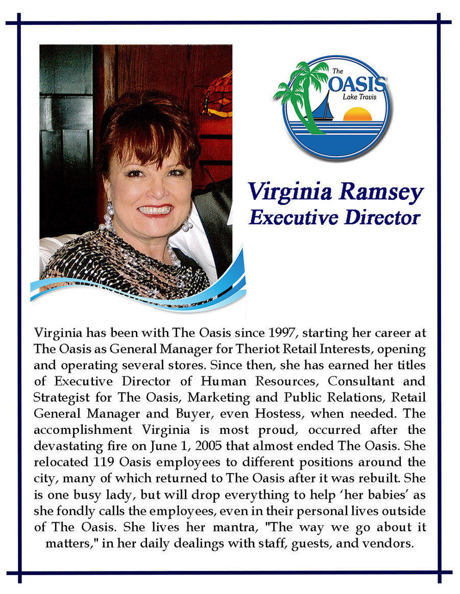Executive Director Virginia Ramsey