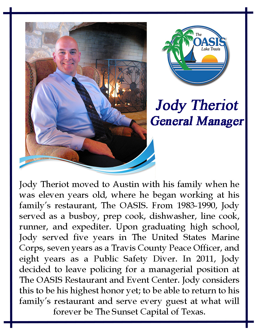 Assistant General Manager Jody Theriot